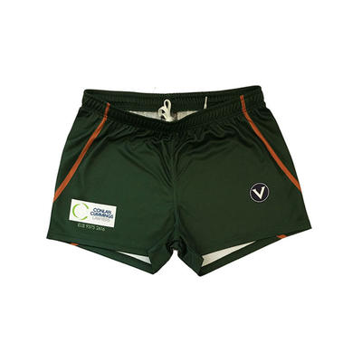 Wholesale Custom Dri Fit AFL Shorts With 4 Way Stretch Fabric Footy Short For Men