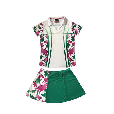 Hot Sale Sportswear Custom Women Cheap Netball Dresses Youth New Tennis Skirts
